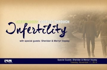 Shepherding Couples Through Infertility Webinar