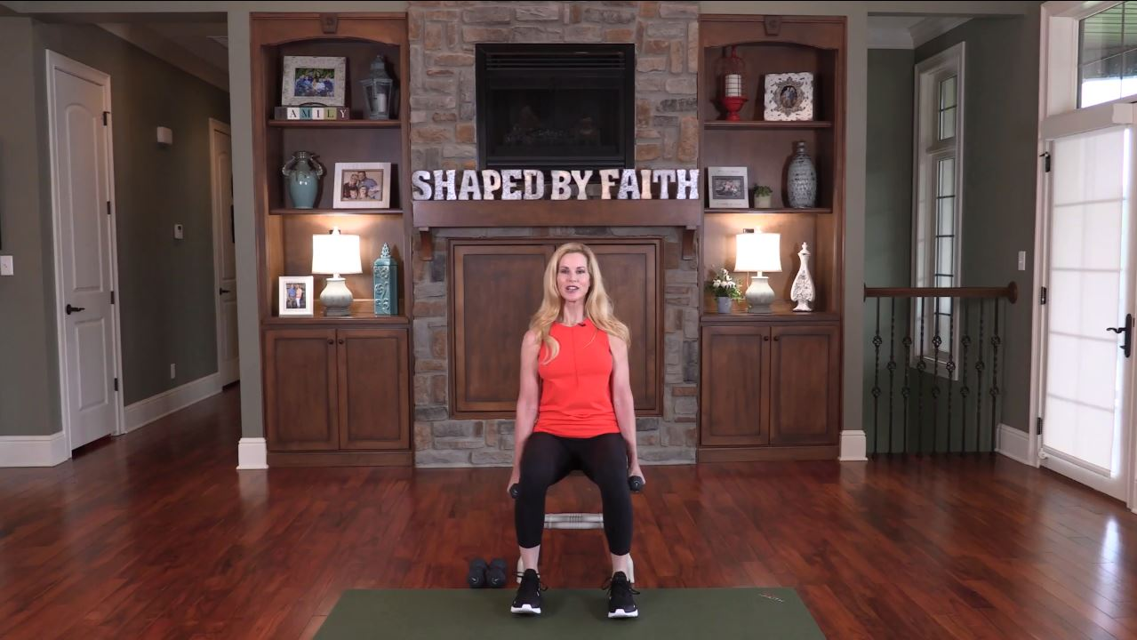 Shaped By Faith With Theresa Rowe Episode #2 Strength Training For Beginners