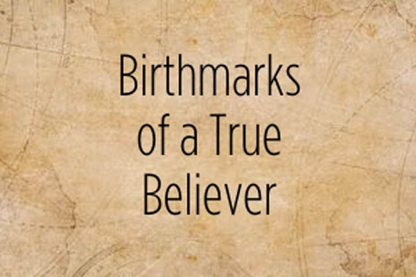 Birthmarks Of A True Believer by Adrian Rogers