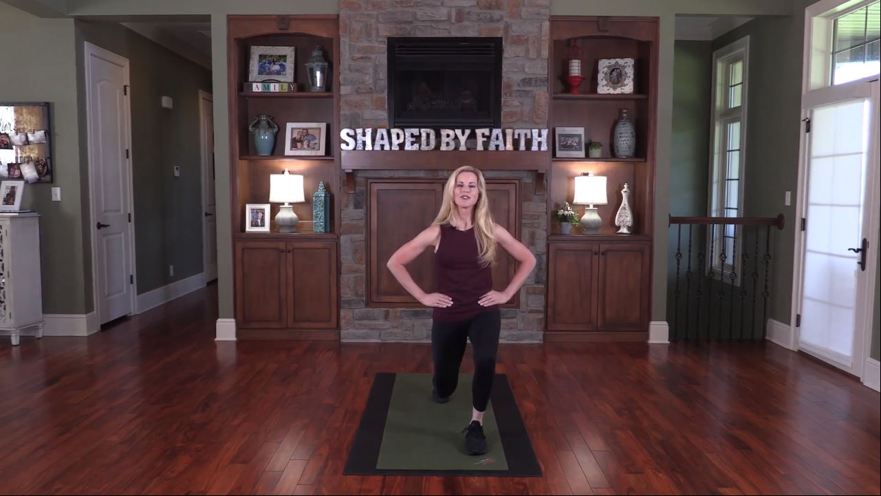 Shaped By Faith With Theresa Rowe – Episode 7 Lower Body Workout