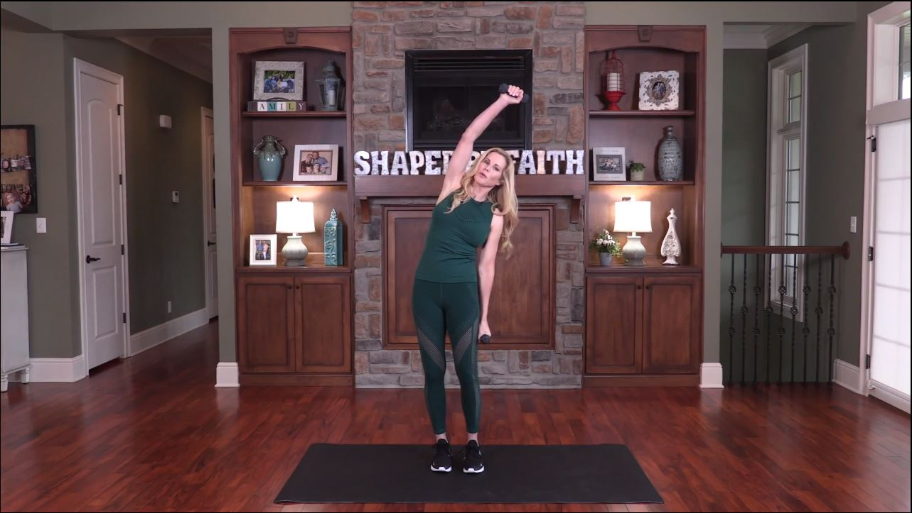 Standing Pilates With Weights