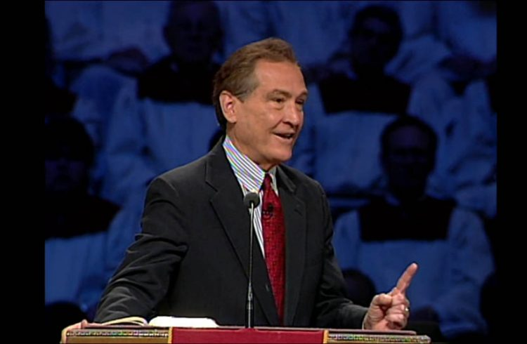 When God Says No by pastor Adrian Rogers