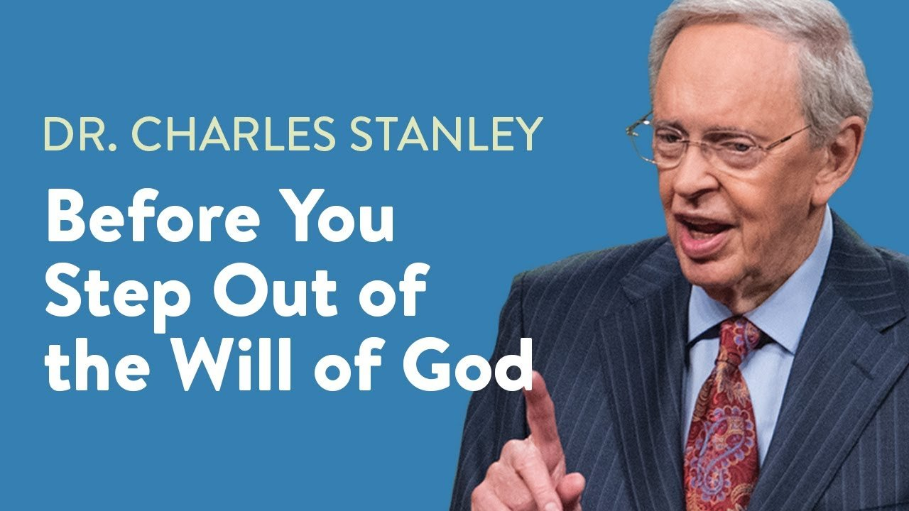 Before You Step Out Of The Will Of God
