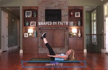 Shaped By Faith With Theresa Rowe – Episode #12 Pilates With Props