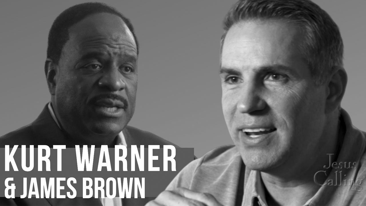 Kurt Warner & James Brown; Trusting God To Call The Plays