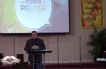 Teach Me To Pray, Part 2 with pastor Dale Noe