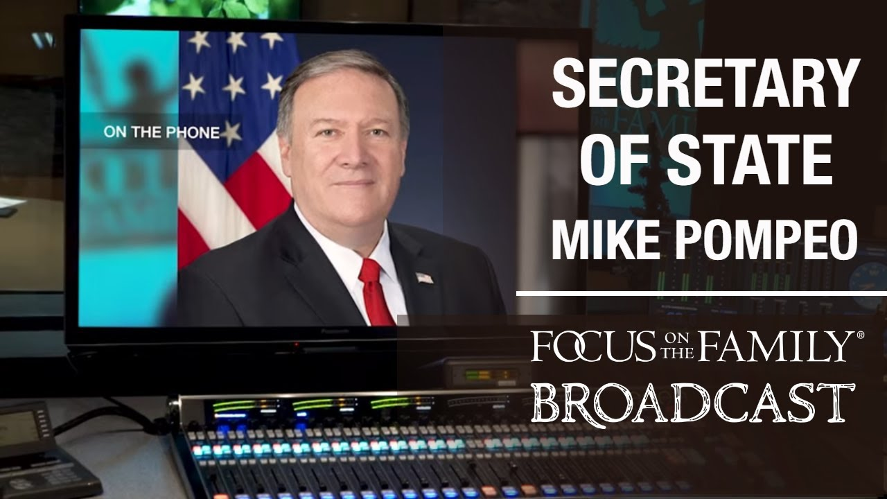 An Update With Secretary Of State Mike Pompeo