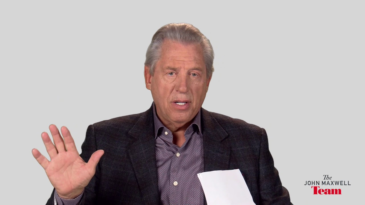 How Does A Leader Set Expectations For A Team A Minute With John Maxwell, Free Coaching Video