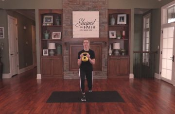 Shaped By Faith With Theresa Rowe – Episode #16 Kettle Bell
