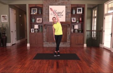 Shaped By Faith With Theresa Rowe Episode #25 Stretch & Flex Workout