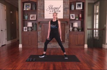 Shaped By Faith With Theresa Rowe Episode #26 Core Workout