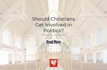 Should Christians Get Involved In Politics