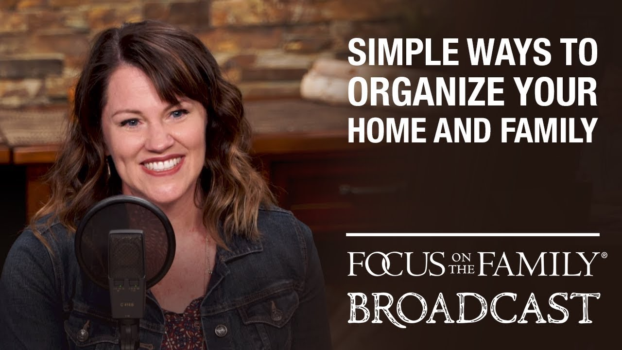Simple Ways To Organize Your Home And Family Kristi Clover