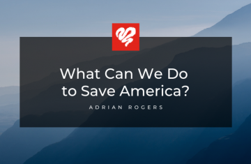 What Can We Do To Save America