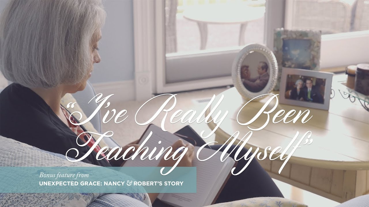 """Unexpected Grace; """"i've Really Been Teaching Myself"""""""
