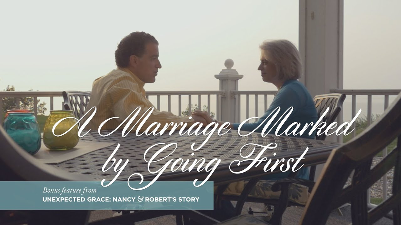 Unexpected Grace; A Marriage Marked By Going First