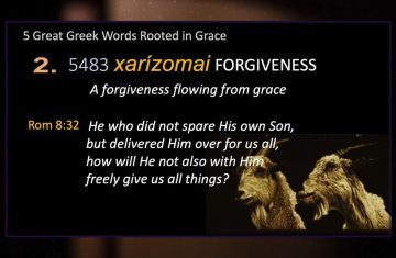 Ep 13five Greek Words Forgiveness (2 Of 5)