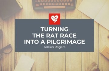 Turning The Rat Race Into A Pilgrimage