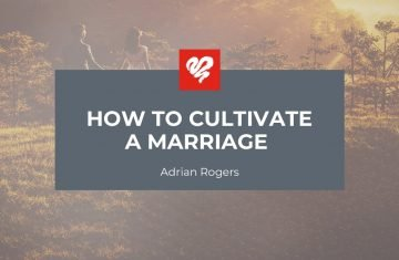 How To Cultivate A Marriage