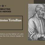 celebrating black heroes quintus septimius tertullian