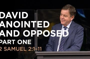 david anointed and opposed — part one