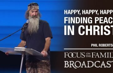 finding peace of mind in christ phil robertson
