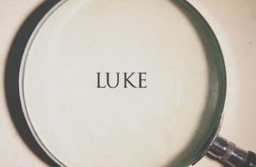 lessons from the book of luke