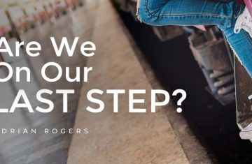 are we on our last step