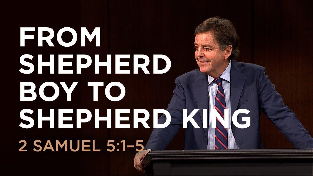 from shepherd boy to shepherd king
