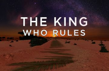 the king who rules