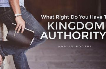 what right do you have to kingdom authority