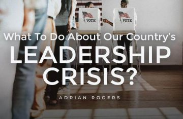 what to do about our country's leadership crisis