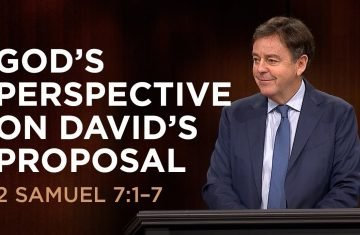 god's perspective on david's proposal