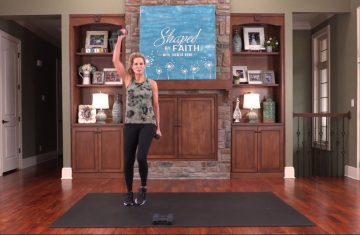 shaped by faith with theresa rowe – episode #46 senior strength & low impact cardio