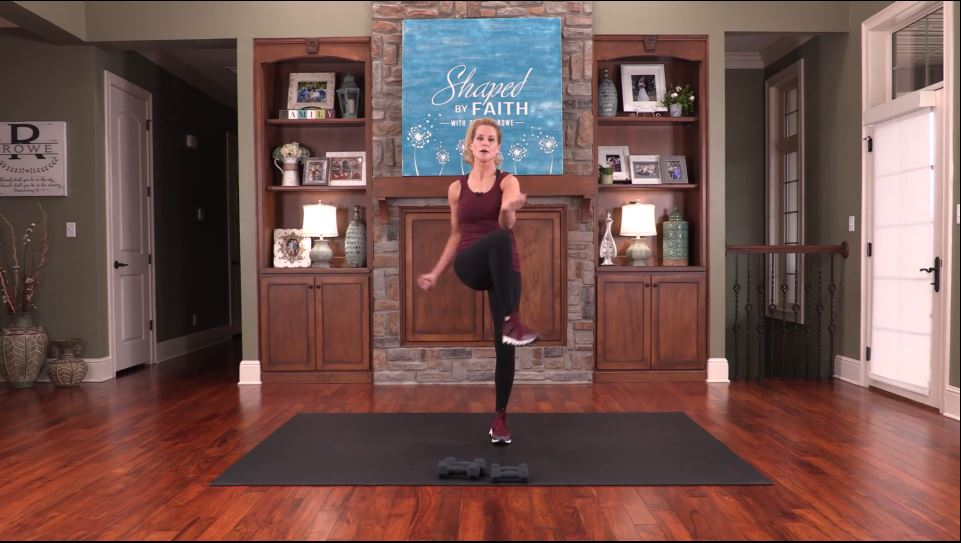 shaped by faith with theresa rowe – episode #51 total body workout