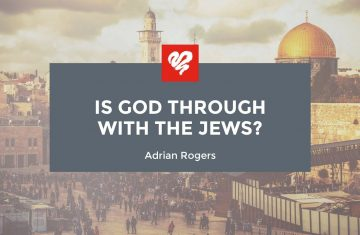 is god through with the jews